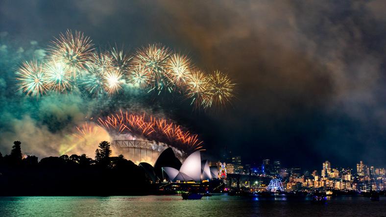 Sydney at New Year