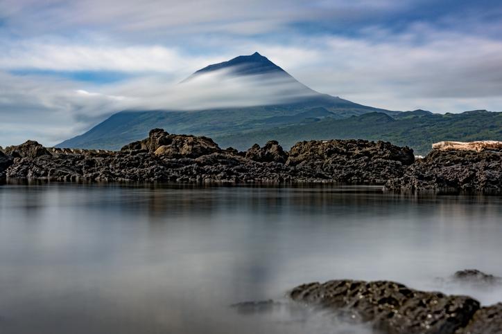 Pico volcano,