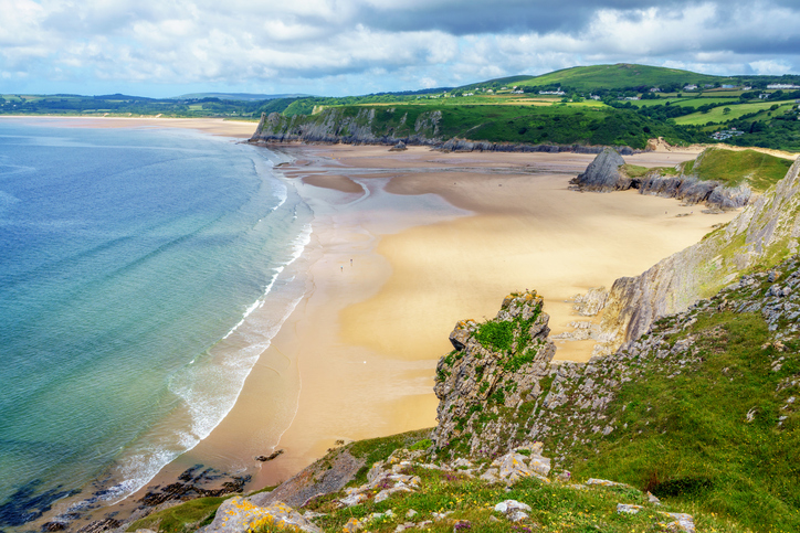 The gower Peninsual