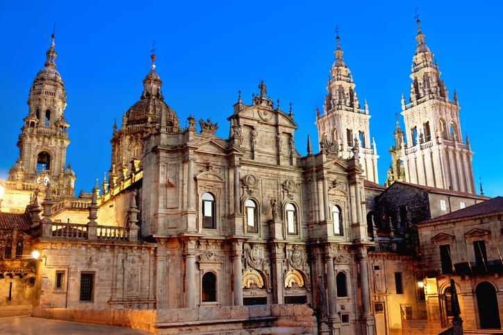 Santiago de Compostela. Galicia, Spain