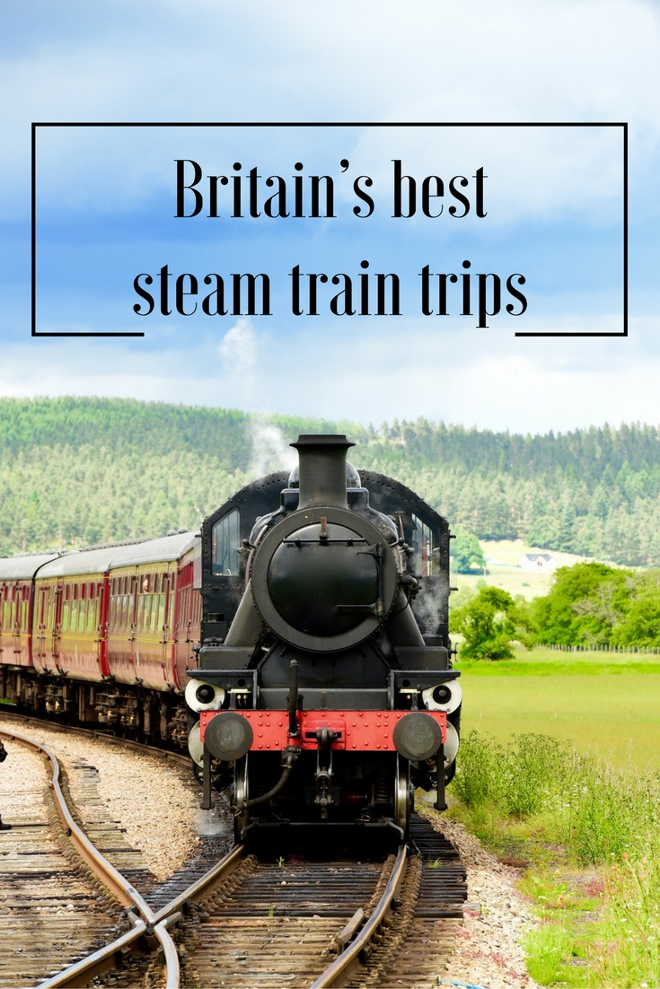Discover Britain's Best Steam Train Trips