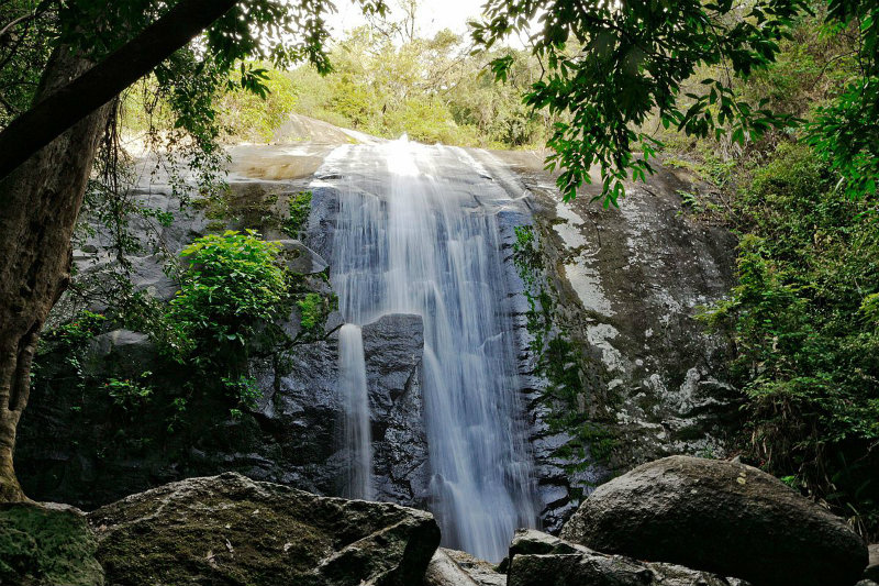 Ilhabela waterfalls