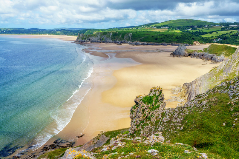 Wales' best beaches, Gower Peninsula