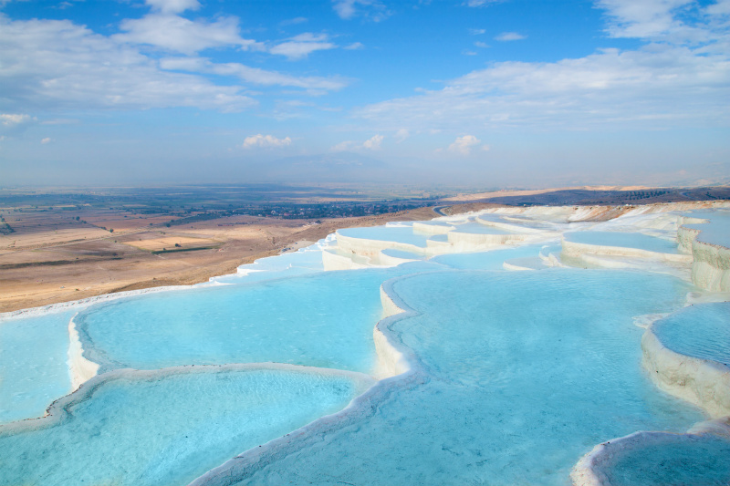 Pamukkale, Hot Springs, Turkey
