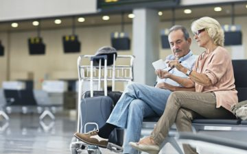 Managing airport stress