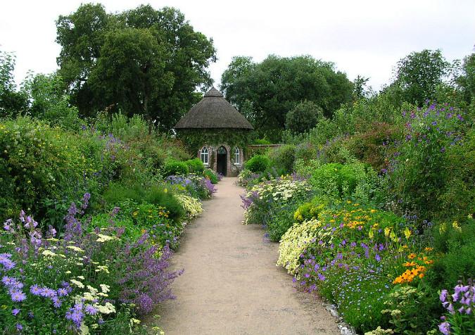 West Dean House gardens