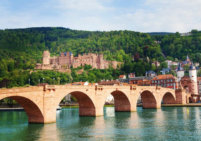 Alte Brucke Castle, Heidelberg