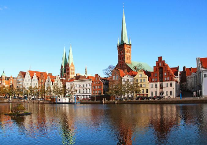 Lubeck Old Town Hamburg