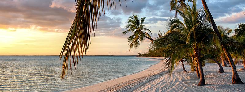 Sunset at Beach at the Bahamas