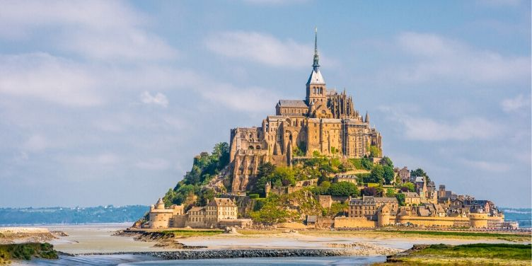 Mont-Saint-Michel-Normandy-France