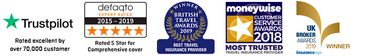 The UK's most trusted travel insurance provider