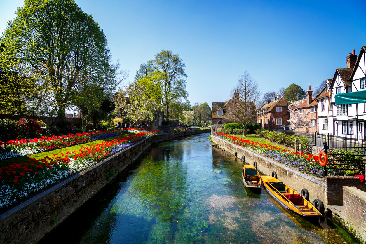 Canterbury river