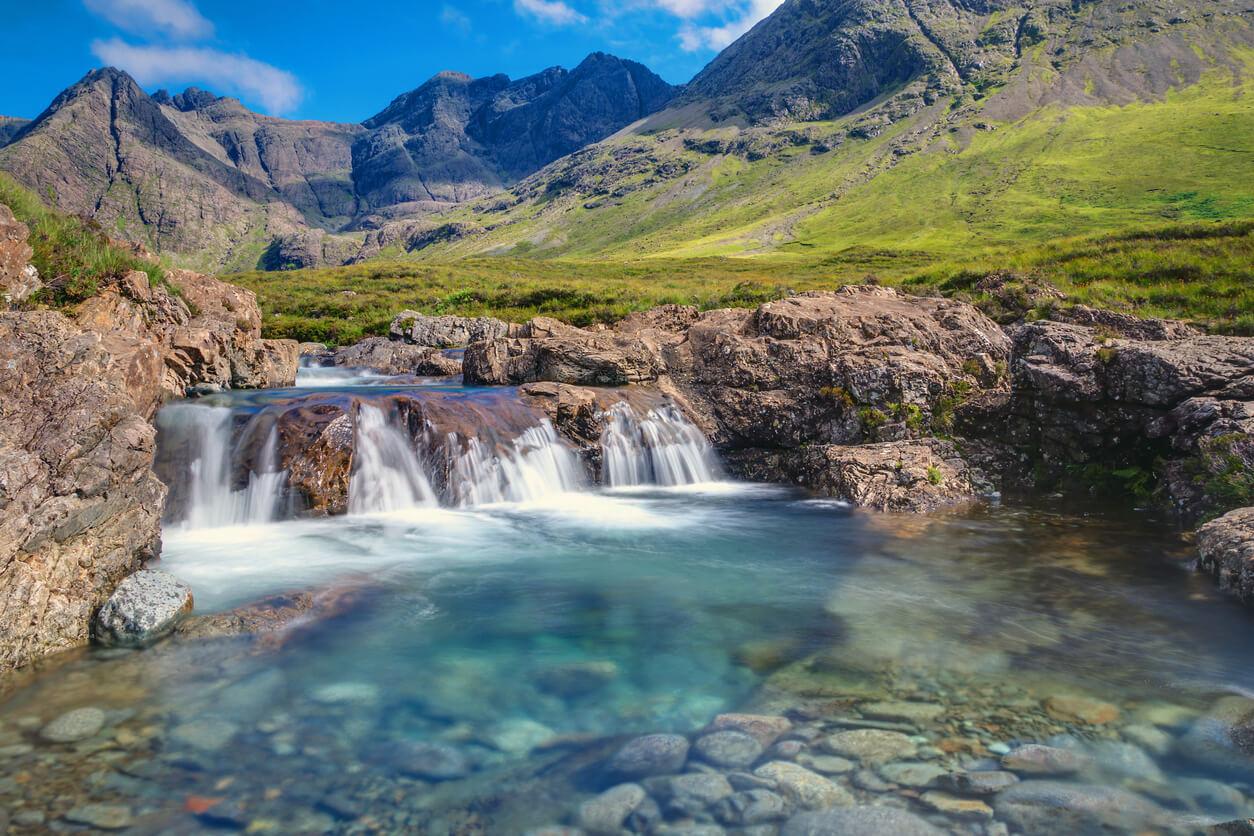 Fairy Pools on Isle of Skye