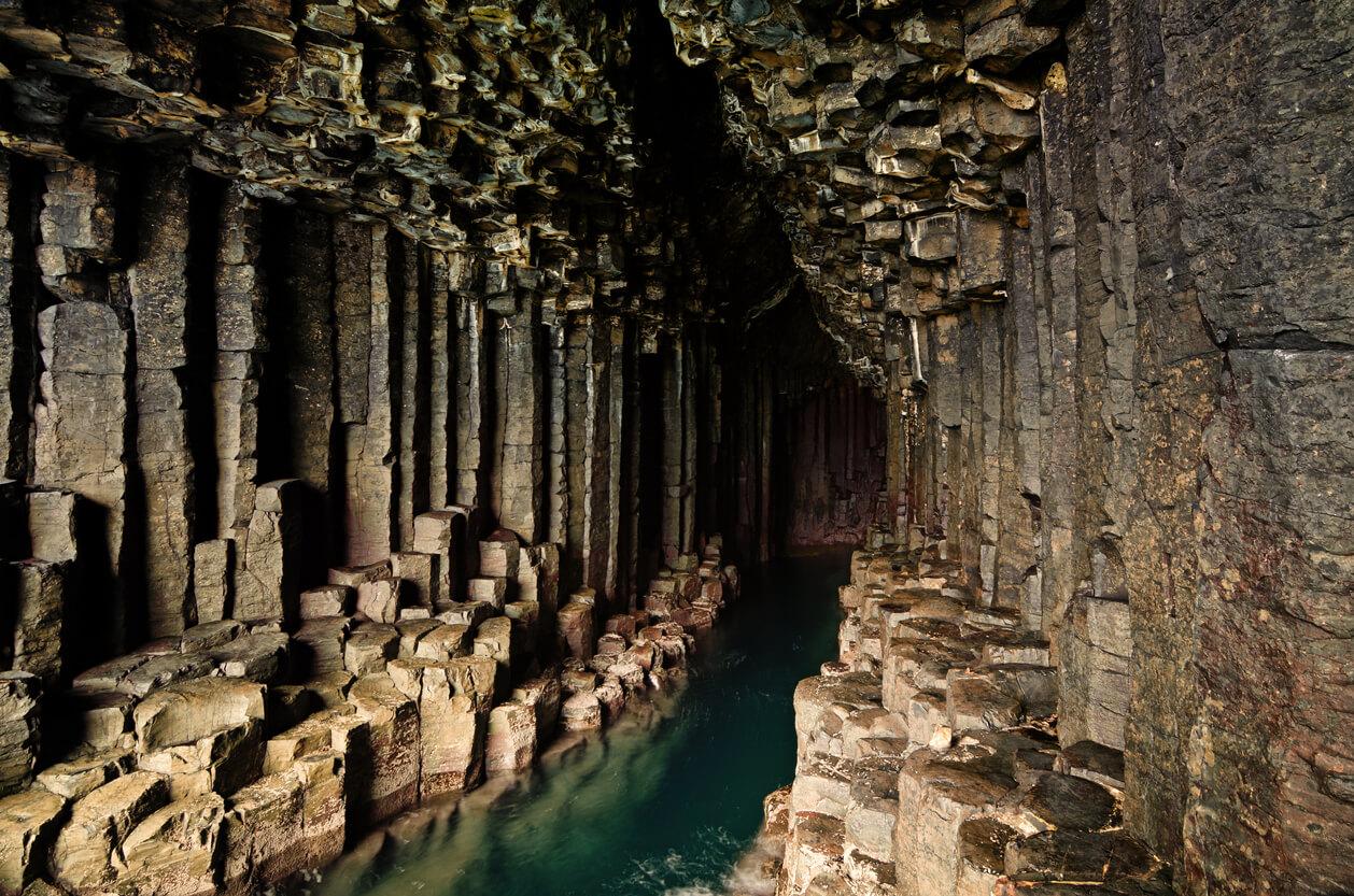 Fingals Cave on Isle of Staffs