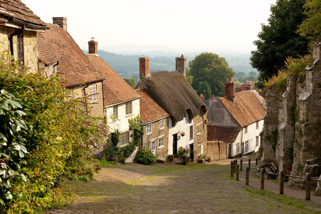 Gold Hill Dorset