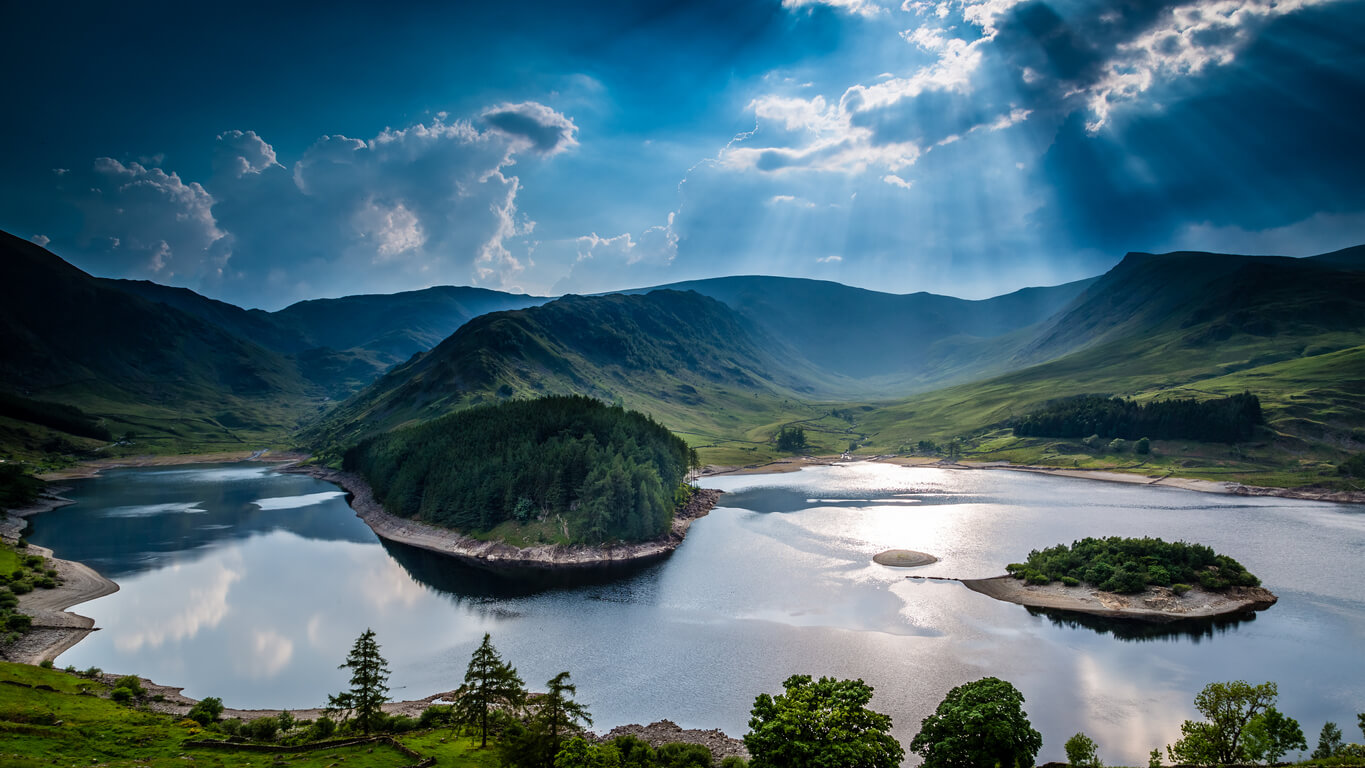 Haweswater Lake in the Lake District