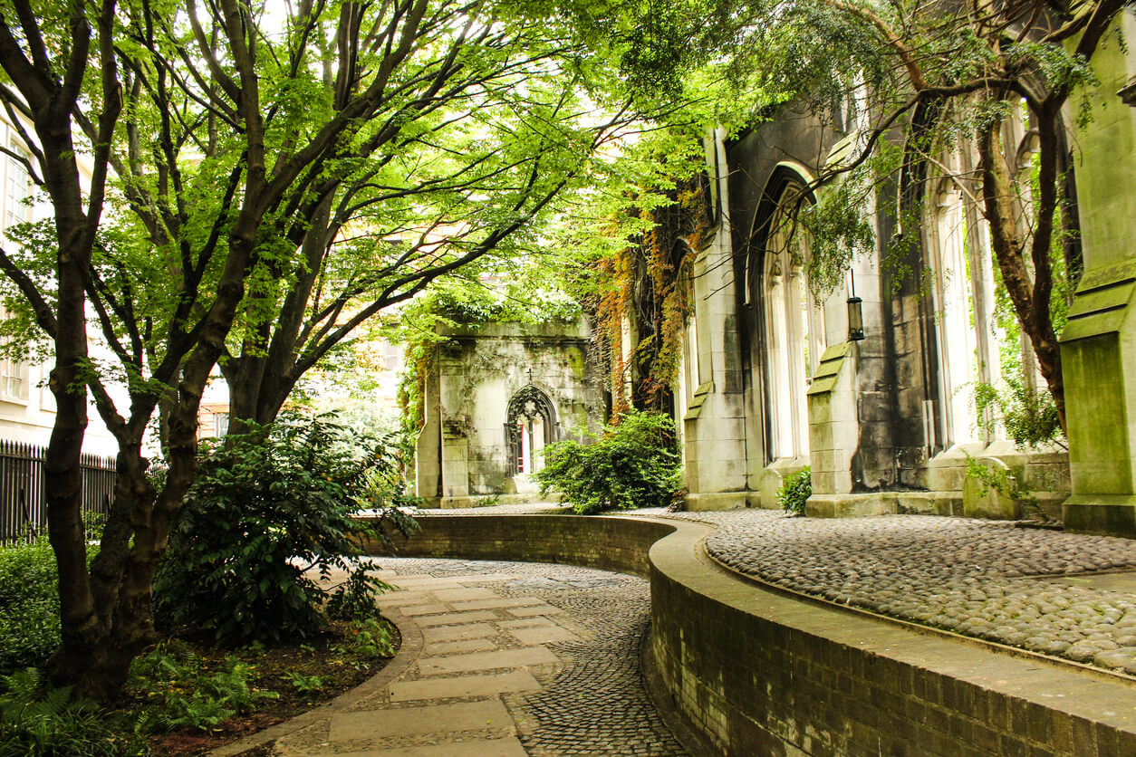 St Dunstans in the East - London