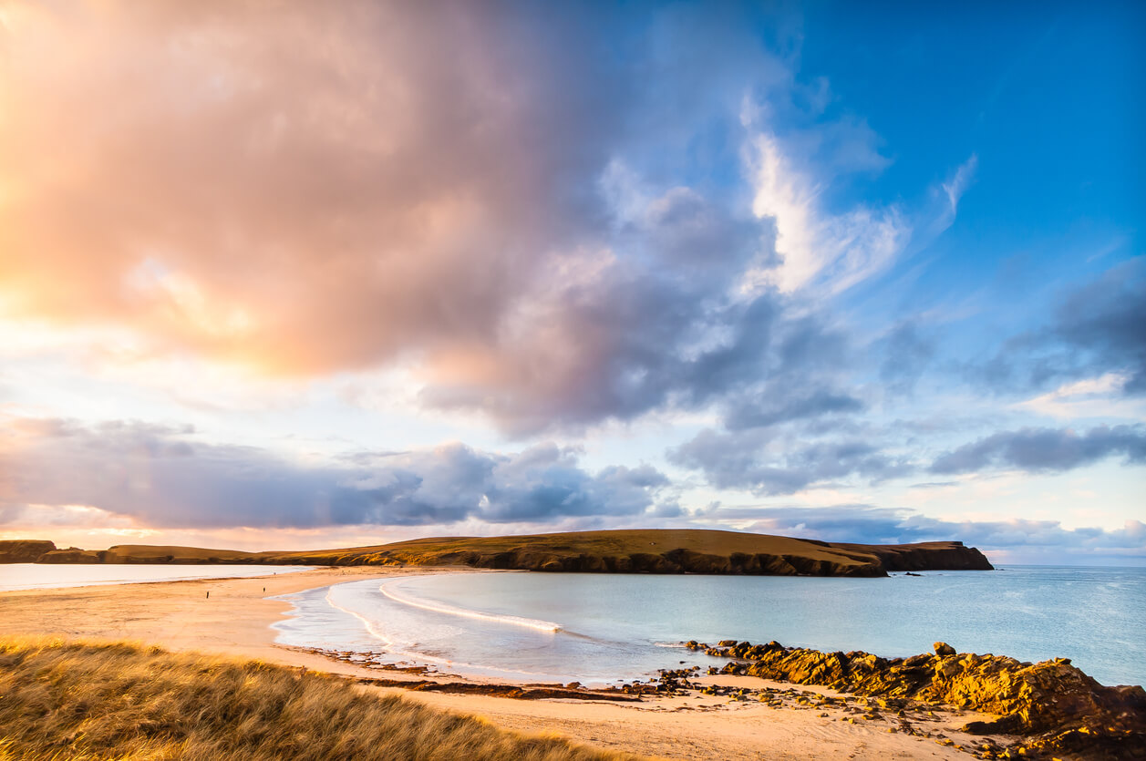 St Ninian's Isle in Shetland
