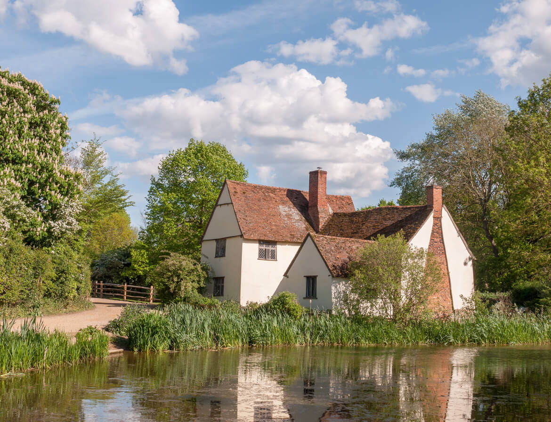 Willy Lott's Cottage in Suffolk