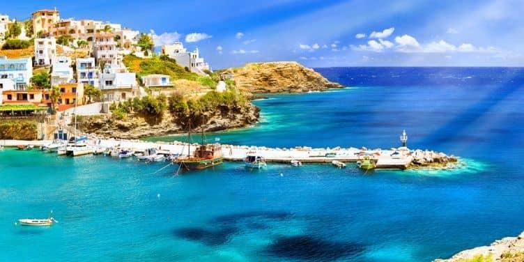 Crete Harbour in Rethymnon
