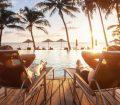 Beach hotel swimming pool