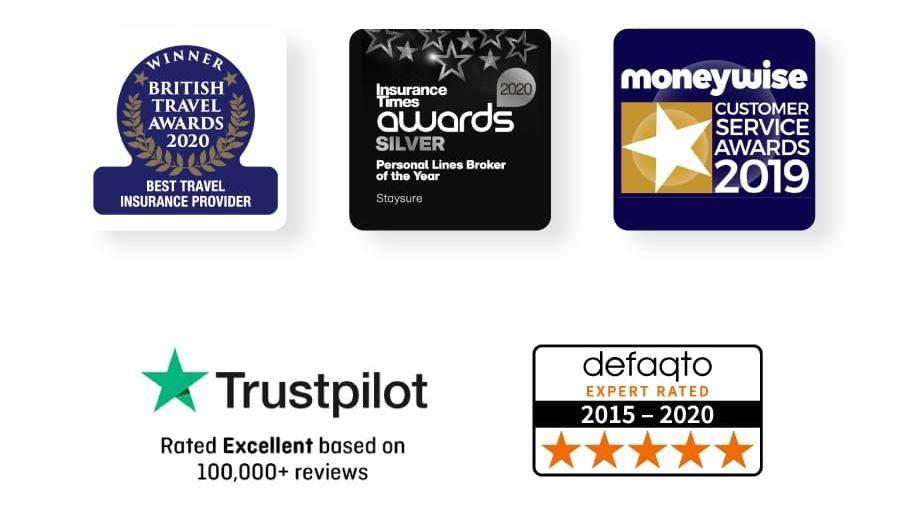 Staysure Travel Insurance Awards
