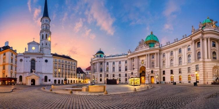 St. Michael's Square in Vienna