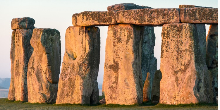an image of Stonehenge, part of a World Heritage Site