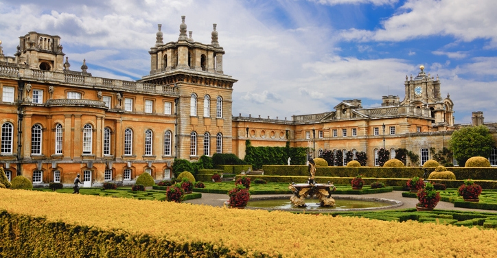 an image of Blenheim Palace, a World Heritage Site in Woodstock