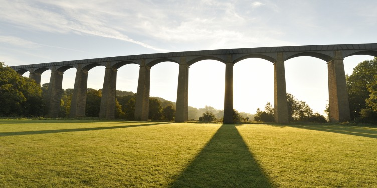 an image of Pontcysyllte Aqueduct, part of a World Heritage Site in Wales