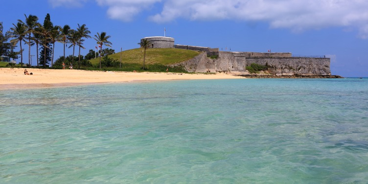 an image of fortifications in the Historic Town of St George, Bermuda, part of a World Heritage Site