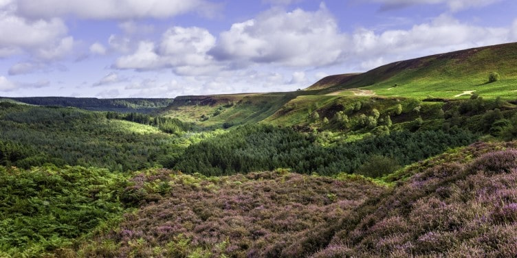 View of North York Moors