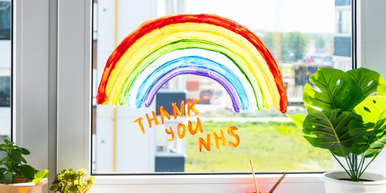 NHS thank you message