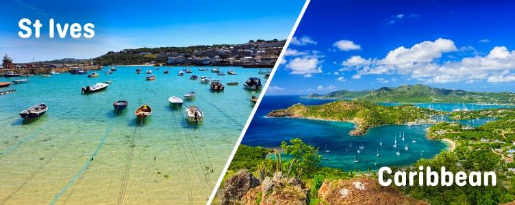 St Ives looks like the Caribbean