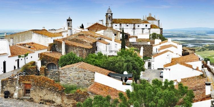 Medieval village of Monsaraz in Alentejo