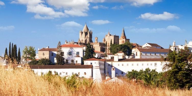 Evora Cathedral in Portugal