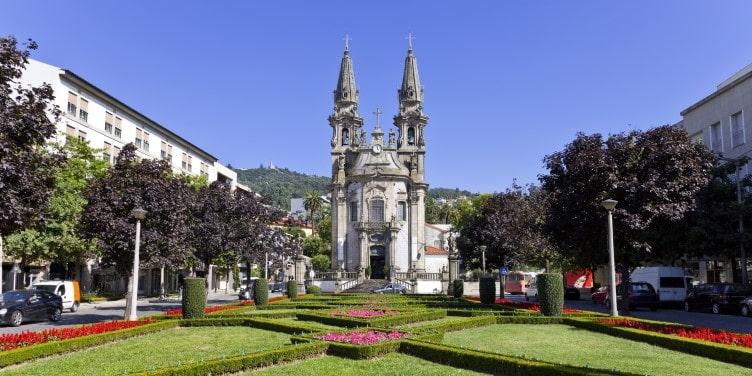 Saints Passos Church in Portugal
