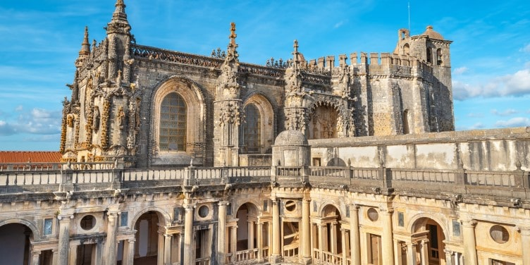 Convent of Christ in Tomar Portugal