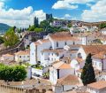 Old town of Obidos in Portugal