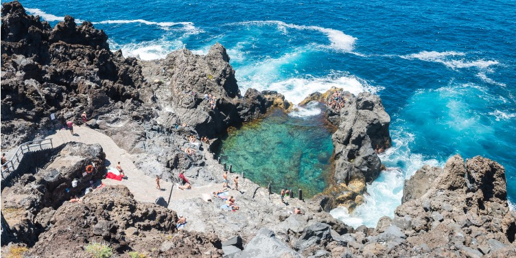 an image of a natural pool in Tenerife