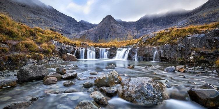 Waterfall in the Fair Pools