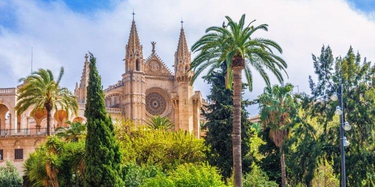 Cathedral la Seu in Mallorca