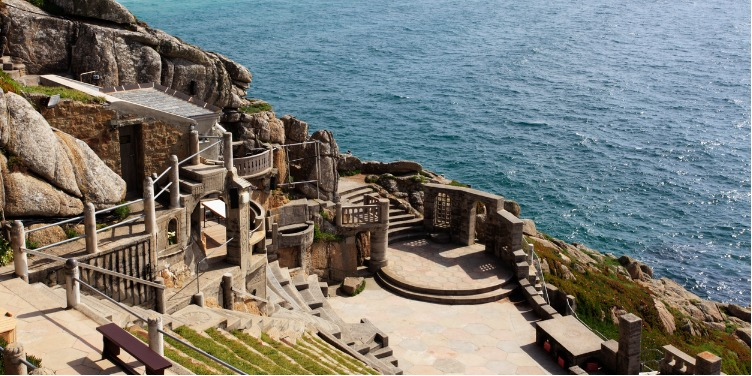 an image of Minack Theatre in Cornwall