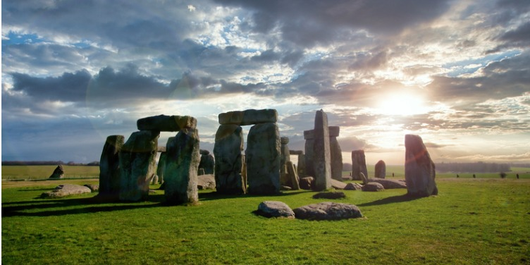 an image of Stonehenge in Wiltshire