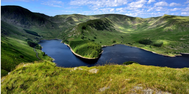 an image of Haweswater in the Lake District