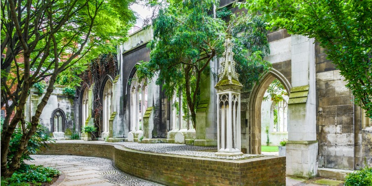 an image of St Dunstan's in the East in London